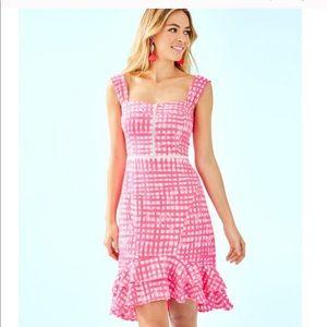 NWT Avalyn Stretch Dress Lilly Pulitzer 4 Pink